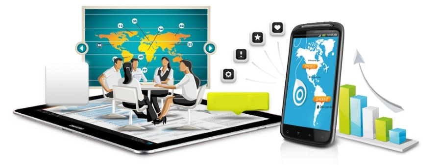 Development of mobile applications for Android